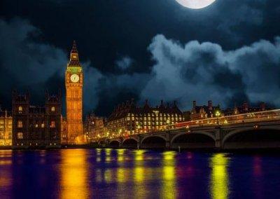 Vueling tickets bestemming Londen Big Ben